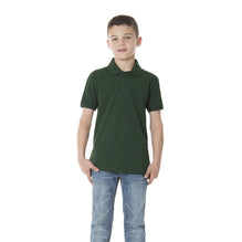 Dickies Polo Shirt For Boys-Dark Green-BE784