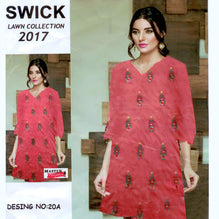 Swick Lawn Collection Unstitched 3 Piece Suit For Ladies-NS04