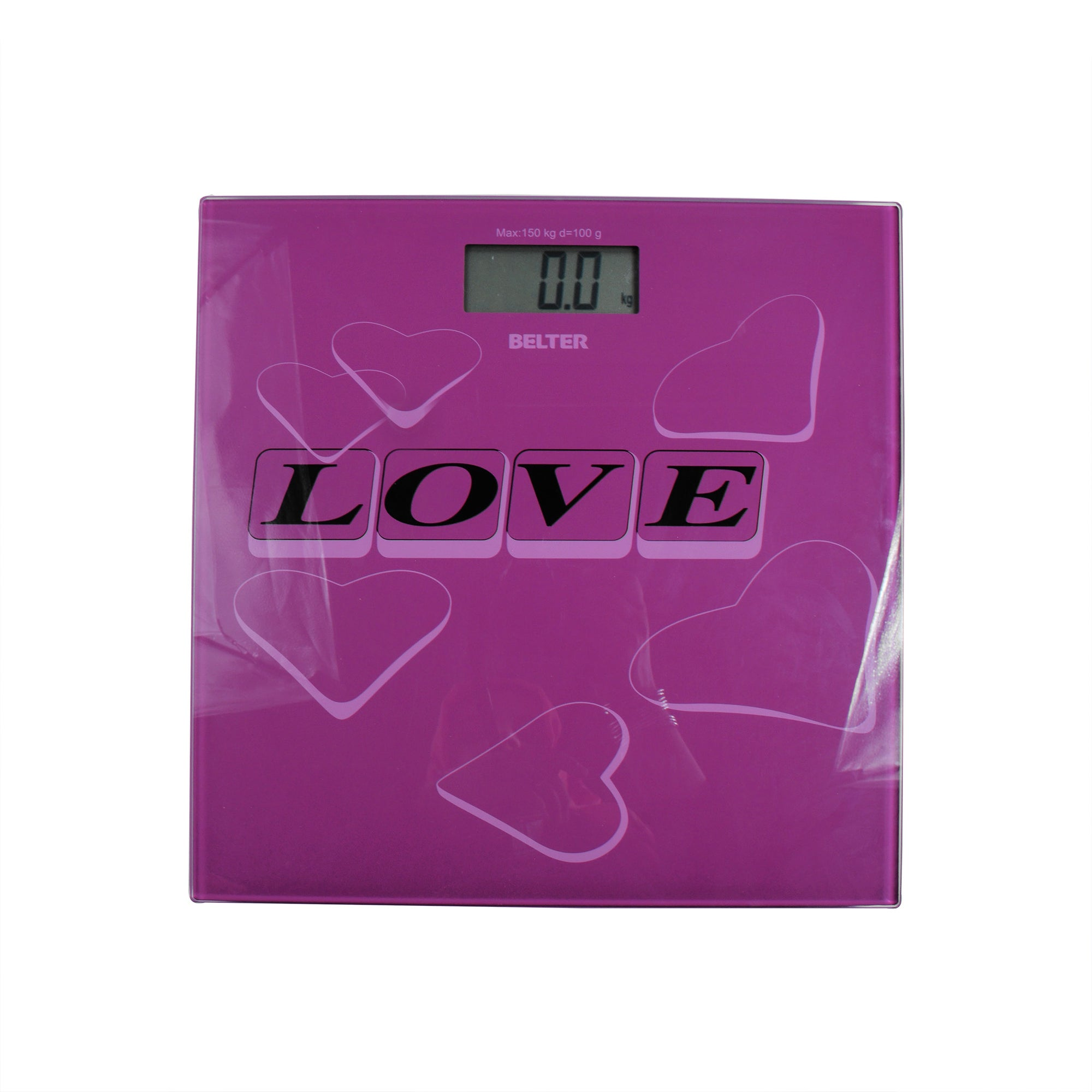 BELTER Digital Body Weight Glass Scale-SK0392