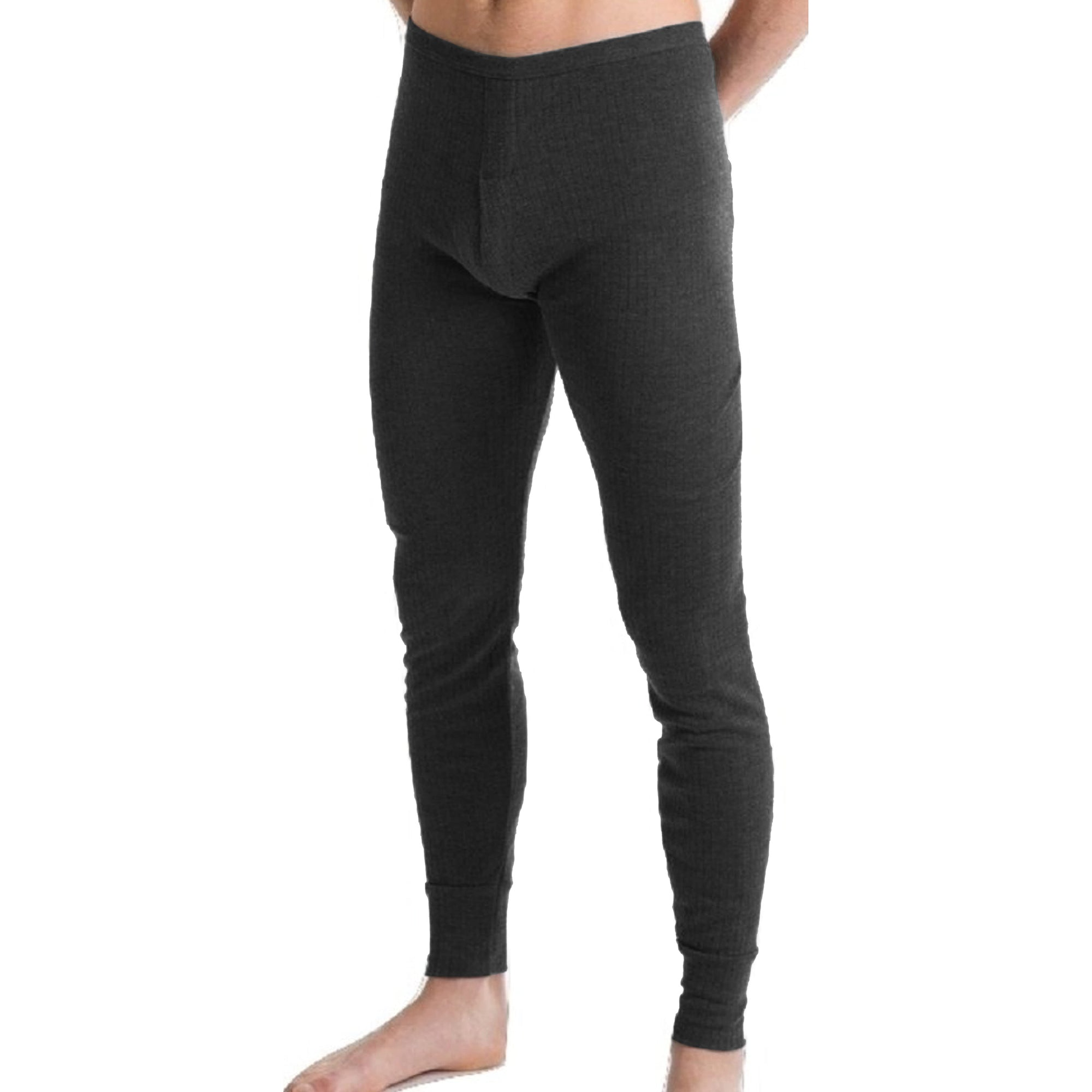 Next Thermal Slim Fit Under Trouser For Men-Charcoal-SP4462