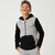 Tommy Hilfiger Quilted Zipper Hoodie For Kids-Grey Melange-SP3343