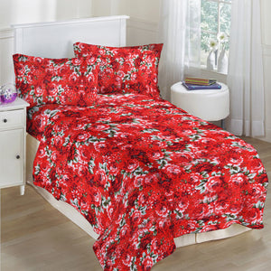 5D Oker's Island 100% Cotton Sutton Printed Double Bed Sheet & Pillow Set-NA6075