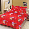 5D Oker's Island 100% Cotton Sutton Printed Double Bed Sheet & Pillow Set-NA6096