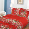 5D Oker's Island 100% Cotton Sutton Printed Double Bed Sheet & Pillow Set-NA6097