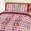 5D Oker's Island 100% Cotton Sutton Printed Double Bed Sheet & Pillow Set-NA6098