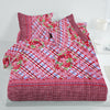 5D Oker's Island 100% Cotton Sutton Printed Double Bed Sheet & Pillow Set-NA6102