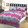 Oker's Island 100% Cotton Printed Double Bed Sheet & Pillow Set-BE5631