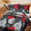 5D Oker's Island 100% Cotton Sutton Printed Double Bed Sheet & Pillow Set-BE5646