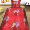 5D Oker's Island 100% Cotton Sutton Printed Single Bed Sheet & Pillow-BE5625