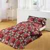 5D Oker's Island 100% Cotton Sutton Printed Single Bed Sheet & Pillow-BE5630