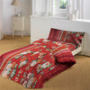 5D Oker's Island 100% Cotton Sutton Printed Single Bed Sheet & Pillow-BE5641