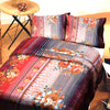 5D Oker's Island 100% Cotton Sutton Printed Single Bed Sheet & Pillow Set-BE5617