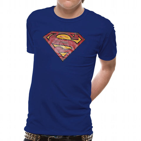 Next Half Sleeve Crew Neck T Shirt For Men-Blue-BE2083