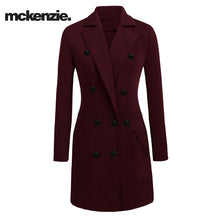 McKenzie Stylish Long Trench Coat For Ladies-Dark Maroon-NA232