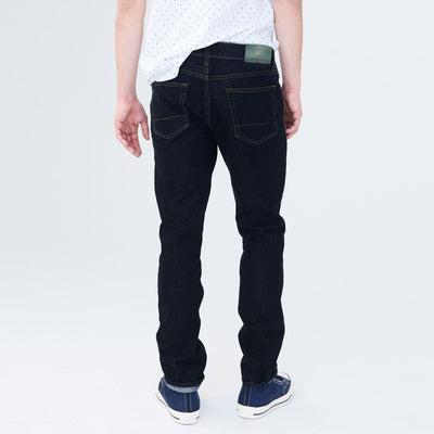 brandsego - Marina Del Rey Slim Slim Fit Stretch Denim For Men-Dark Ink-NA8871