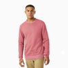 Next Terry Fleece Burnout Wash Long Sleeve Sweat Shirt For Men-Pink-SP985