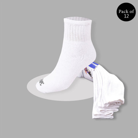 "Pack Of 12 Unisex ""Top Man"" Sock's- So02"