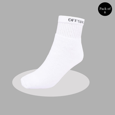 "Pack Of 6 Unisex ""Top Men"" Sock's- So34"