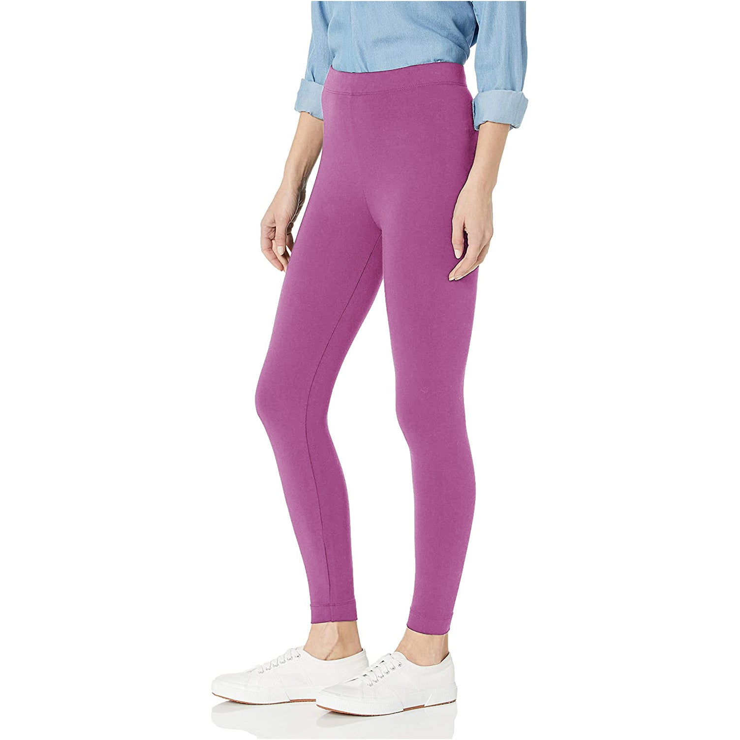 NK Leggings For Women-Magenta-NA11073