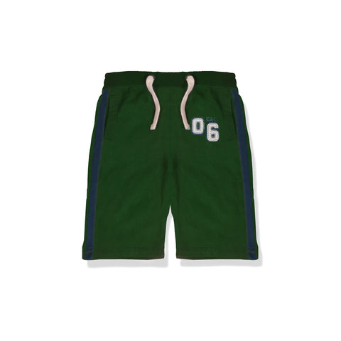 Next Fleece Short For Kid Cut Label -Green-BE2287