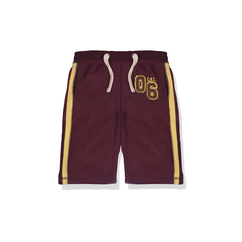 Next Fleece Short For Kid Cut Label -Maroon-BE2288
