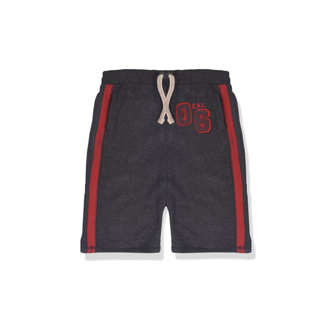 Next Fleece Short For Kid Cut Label -Charcoal-BE2290