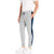 Diesel Summer Slim Fit Jogger Trouser For Men-Grey Melange & Navy Stripe-SP2234