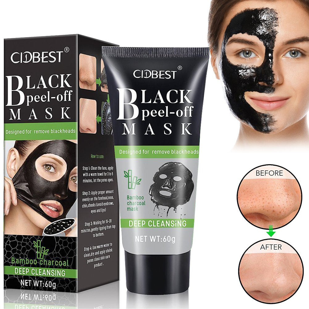 CIDBEST Black Mask Charcoal Mask Peel Off Mask Blackhead Remover Mask For Ladies-BE11479
