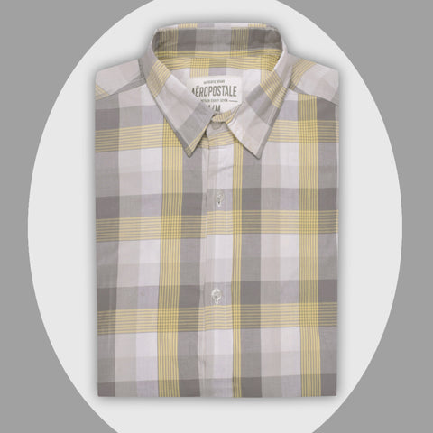 "Men's ""Aeropostal"" Exclusive Ak M Cotton Shirt-0269"