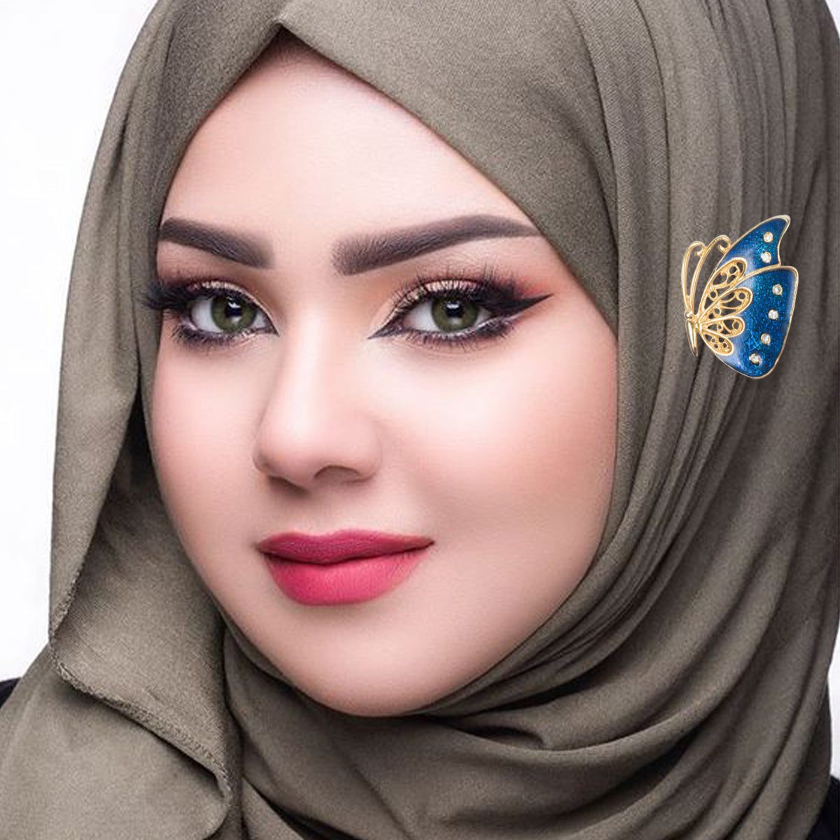 Fabulous Hijab Scarf Buckle Clip For Women-JW265