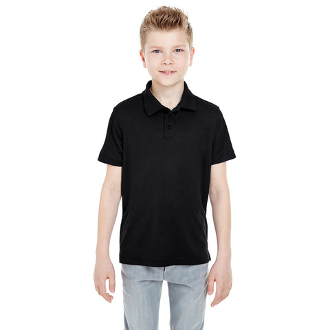Dickies Polo Shirt For Boys-Black-BE787