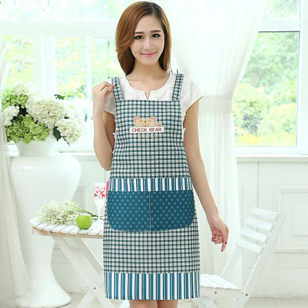 Stylish Printed Kitchen Apron - 658