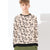 ZBaby Terry Fleece Sweatshirt For Kids-Skin with Allover Print-BE12831