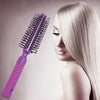 Round Styling Hair Brush - Blow Dryer & Curling Roll Hairbrush with Plastic Handle for Women and Men-SK0382