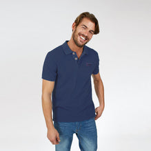 Fat Face Polo For Men Cut Label-Light Blue-BE2768