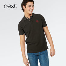 Next Polo For Men Cut Label-Dark Oliv-BE2541