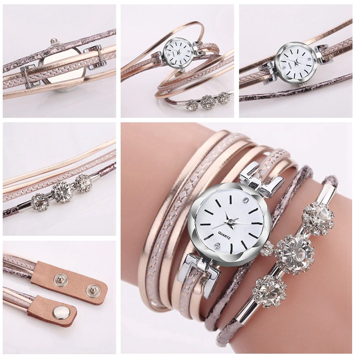 Fashion Casual Analog Quartz Watch For Women-JW035