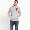 A&F Fleece 1/4 Zipper Hoodie For Men-Grey Melange-BE7750