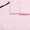 A&F Terry Fleece Full Zipper Mock Neck Jacket For Men-Light Baby Pink-NA7749