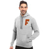 A&F Fleece Pullover Hoodie For Men-Grey Melange-BE7784