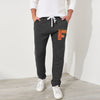 A&F Fleece Regular Fit Trouser For Men-Charcoal-NA7730