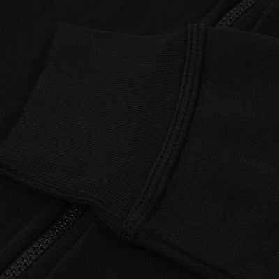 A&F Fleece Zipper Hoodie For Men-Black-NA7798