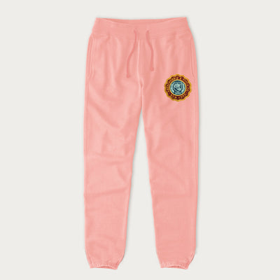 A&F Gathering Bottom Terry Fleece Trouser For Men-Light Pink-NA7703