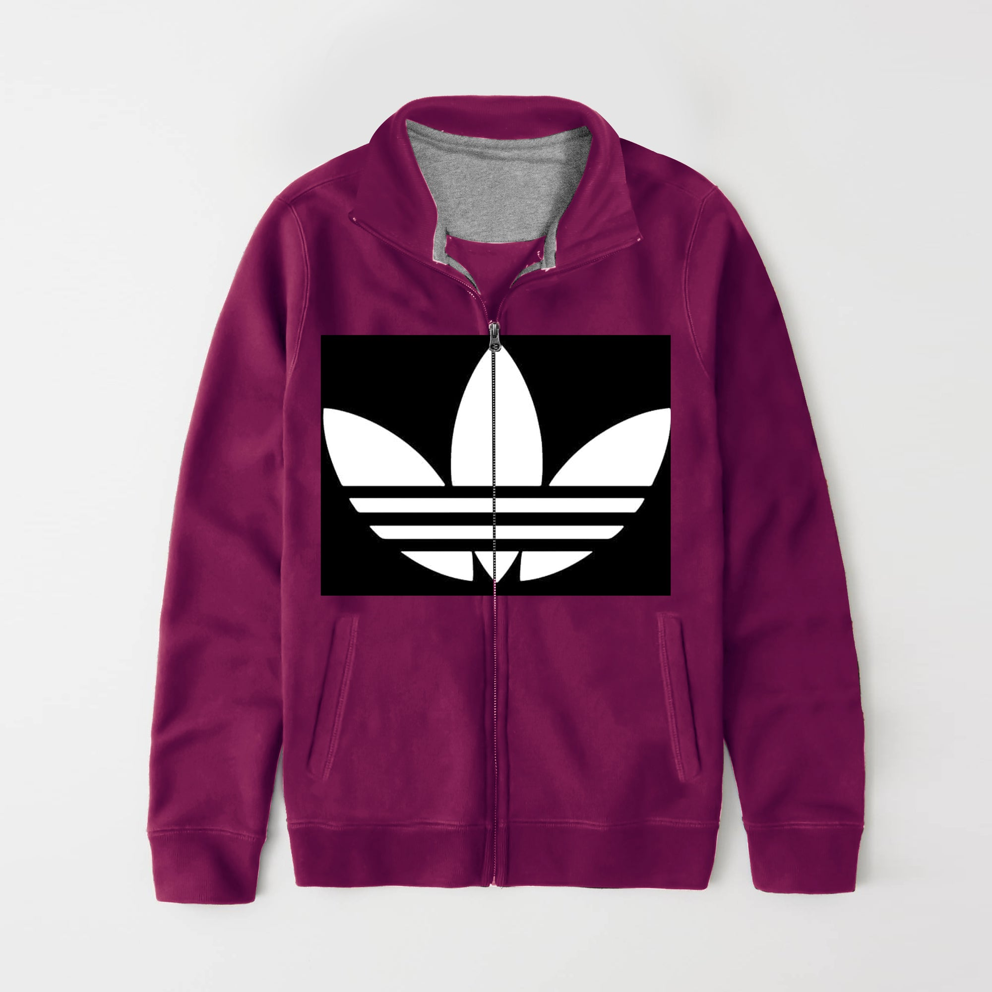 adidas fleece mens jacket