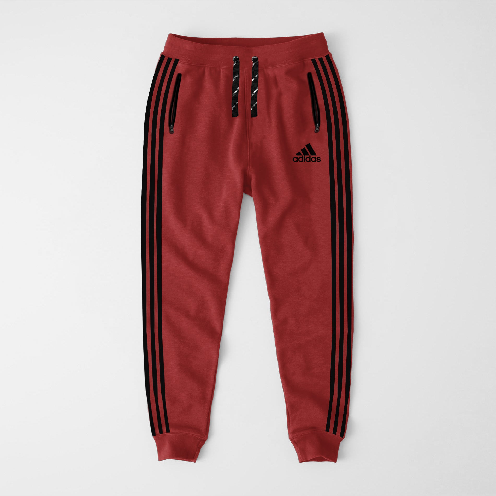 Adidas Single Jersey Slim Fit Jogger Trouser For Men-Coral Red-NA8243
