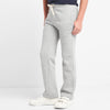 Adidas Single Jersey Trouser For Kids-Light Grey-NA8791