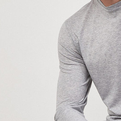 Air Walk Single Jersey Long Sleeve Tee Shirt For Men-NA8236