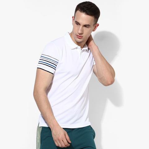 George Polo Shirt For Men -White-BE2008