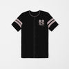 Athletic Fit Performance Tee Shirt For Boys-Black-NA8697