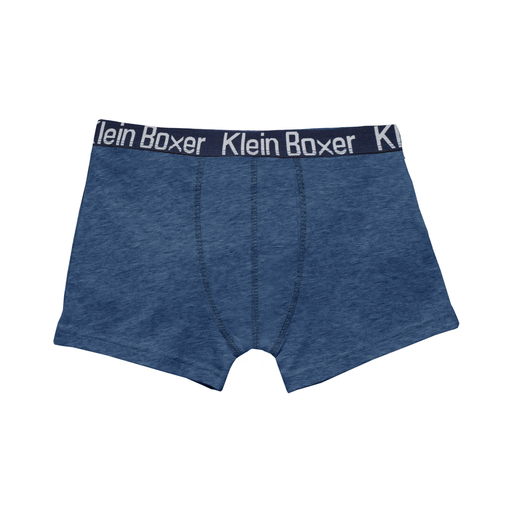 Klein Boxer Shorts For Men-Light Navy Melange-BE4220